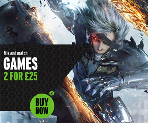 Games 2 for £25