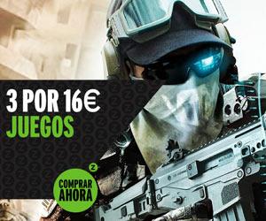 3 Juegos por 16€