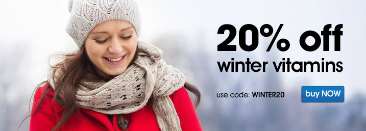 20% off winter Vitamins