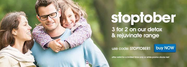 Stoptober - Detox & Rejuvenate