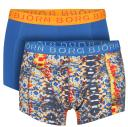 Bjorn Borg Short Shorts - 2 pack Dazed & Solid- Beach Glass/ Snorkel Blue