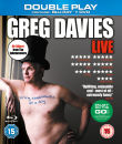 Greg Davies Live Firing Cheesballs At a Dog - Double Play (Blu-ray + DVD) with Digital Audio MP3 File
