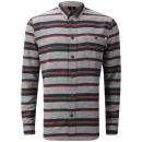 Farah 1920s Men's Blacton Long Sleeve Shirt - Charcoal