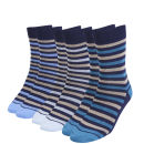 Green Treat Men's 3 Pack Sock Gift Set - Blue - One Size