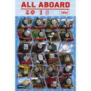 Thomas and Friends Profile Maxi Poster 61 x 915cm