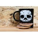 Brew Buddies Skull Mug - Black