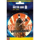 Doctor Who Dalek Exterminate - Vinyl Sticker - 10 x 15cm