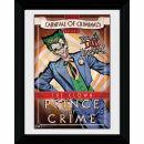 Batman Circus Joker - 30 x 40cm Collector Prints Oferta en Zavvi