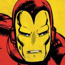 Marvel Comics - Iron Man Close-Up - 40x40cm Canvas