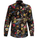 Motel Women's Shirley Print Shirt - Wallflower