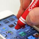 Stylus Táctil iCrayon para Dispositivos Móviles – Rojo Zavvi por 9.09€