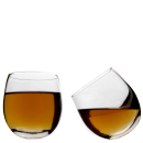 Whisky Rockers Glasses  2 pack