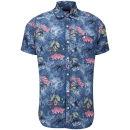 Animal Men's Shast Short Sleeve Shirt - Indigo