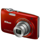 Nikon Coolpix S3100 Compact Digital Camera - Red (14MP, 5x Optical Zoom, 2.7 Inch LCD) - Grade A Refurb