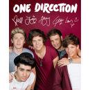 One Direction Maroon - Mini Poster - 40 x 50cm Oferta en Zavvi