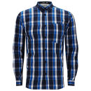 Jack & Jones Mens Garon Shirt - Black Navy