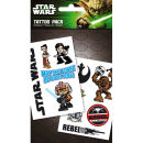 Star Wars Rebel - Tattoo Pack