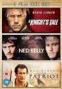The Patriot/A Knights Tale/Ned Kelly Oferta en Zavvi
