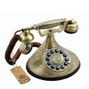 Classic GPO Duchess Telephone with Push Button Dial - Gold