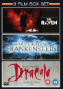 Mary Shelleys Frankenstein / The Raven / Bram Stokers Dracula