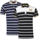 Everlast Men's 2-Pack Striped Polo Shirts – Navy/Black – L LNavy/Black Zavvi por 16.25€