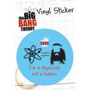 The Big Bang Theory Hippie - Vinyl Sticker - 10 x 15cm Oferta en Zavvi