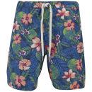 Jack & Jones Originals Men's Floral Swim Shorts - Bright Cobalt - L LBright Cobalt Oferta en Zavvi