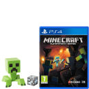 Minecraft PS4 with Creeper Model