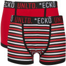 Ecko Men's Stripe 2-Pack Boxers - Red/Black