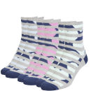 Miss Outrage Women's 3 Pack Socks Sweetbox Gift Set- Pale Blue