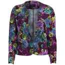 AX Paris Women's Floral Rose Jacket - Multi - 10 10Multi Oferta en Zavvi