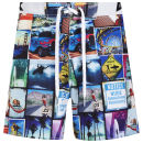 WAXX Men's Baywatch Beach Swim Shorts - Multi