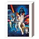 Star Wars A New Hope One Sheet B - 50 x 40cm Canvas