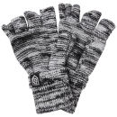 Smith & Jones Men's Erratica Twist Fingerless Gloves - Light Grey Mix - One Size Oferta en Zavvi