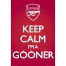 Arsenal Keep Calm - Maxi Poster - 61 x 91.5cm Oferta en Zavvi
