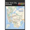 New York Subway Map - Maxi Poster - 61 x 91.5cm Oferta en Zavvi