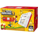 Nintendo 2DS White and Red Console - Includes New Super Mario Bros 2
