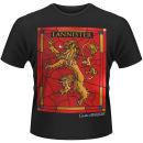 Game of Thrones Men's T-Shirt – House Lannister – Black Zavvi por 18.19€
