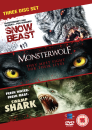 creature-feature-collection-snow-beast-monsterwolf-swamp-shark