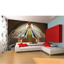 Subway Escalators and Stairs Wall Mural Oferta en Zavvi