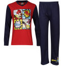 The Simpsons Boys' Bartman Pyjama Set - Red/Navy