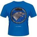 Game of Thrones Men's T-Shirt – House Stark – Blue Zavvi por 18.19€