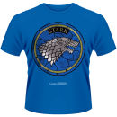 Game of Thrones Men's T-Shirt – House Stark – Blue – L LAzul Zavvi por 18.19€