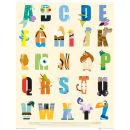 Disney Alphabet - Mini Poster - 40 x 50cm