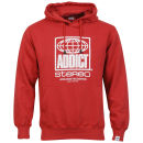 Addict Men's Worldwide Hoody - Red