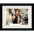 "Star Wars Han Solo - 8"""" x 6"""" Framed Photographic"