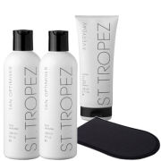 St. Tropez Body Self Tanning Kit - Light/ Medium  (4 Products)