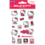 Hello Kitty Red (Glitter) - Glitter Sticker Pack