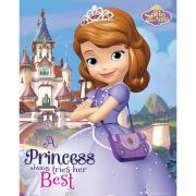 Sofia The First Castle - Mini Poster - 40 x 50cm
