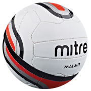 Mitre Malmo Football White/Navy/Red